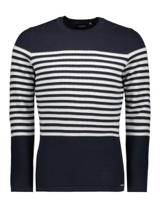 Superdry Trui SUPIMA BRETON CREW M6110012A CARBON NAVY