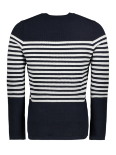 supima breton crew m6110012a superdry trui carbon navy