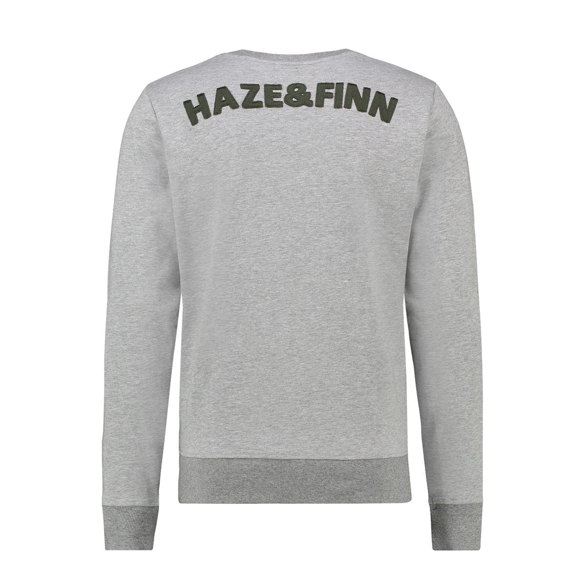 sweat cut out mu13 0402 haze & finn sweater lgm/army