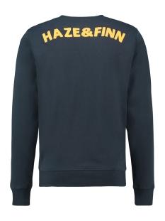 sweat cut out mu13 0402 haze & finn sweater sapphire melange