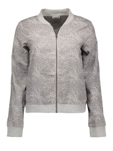 nmcoral bomber jacket 10157397 noisy may vest frost gray