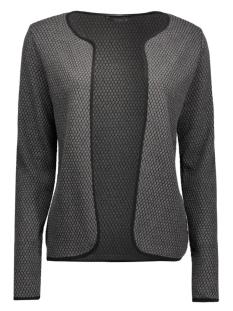 onldiamond cardigan 15103200 only vest dark grey