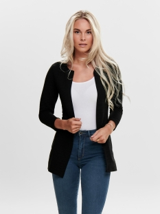 onlleco 7/8 long cardigan 15112273 - 2 only vest black