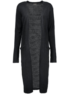 Vila Vest Riva Long Knit Cardigan 14015571 black