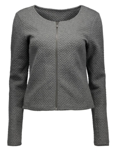 ViNaja New Short Jacket 14032657 medium grey melange