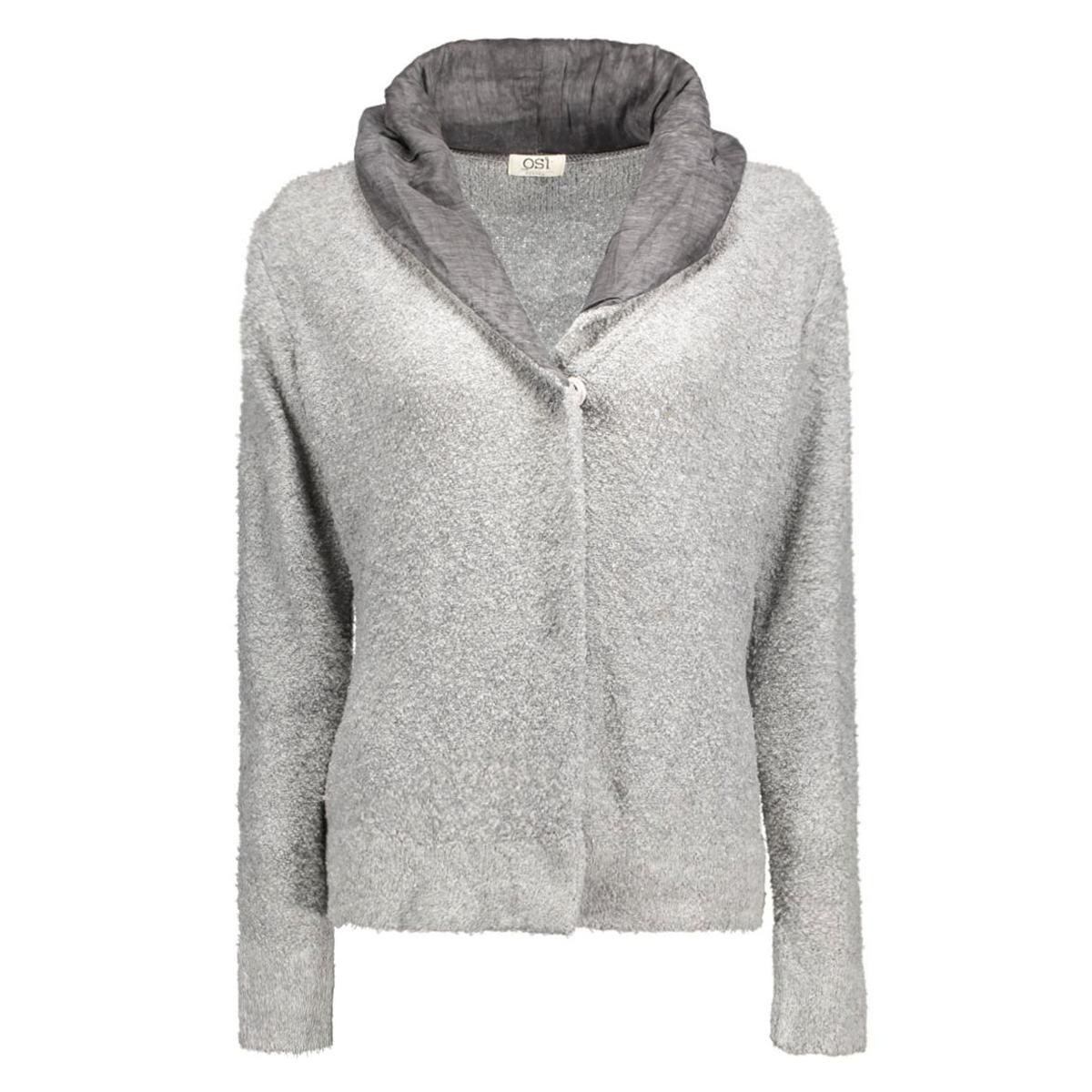 level boucle osi femmes vest grey