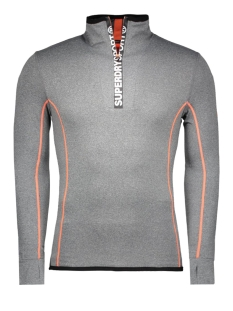 Superdry Sport trui M60004PM GREY GRIT