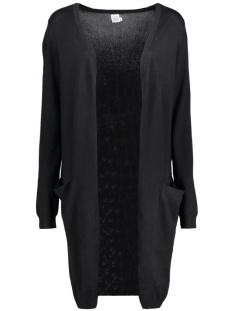 n2675 long cardigan black saint tropez vest 0001 black