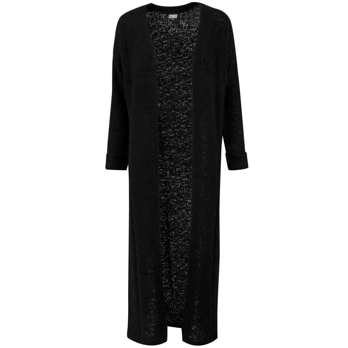 tb1344 cardigan black urban classics vest black