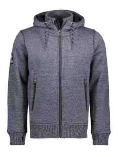 m20001mp ziphood superdry vest ia5 grey
