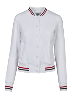 Urban Classics Jas TB1991 COLLEGE JACKET WHITE