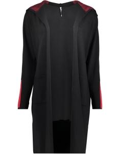 Zoso Vest FAY CARDIGAN BLACK/RED