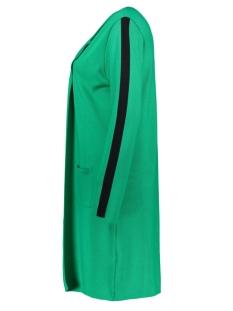 zaza long cardigan zoso vest green/black