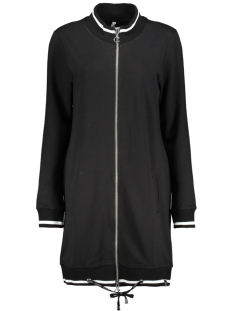 Zoso Vest MEES 2 SPORTY CARDIGAN BLACK/ OFF WHITE