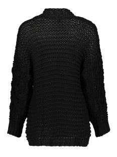 2586 knit cardigan iz naiz vest black