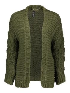 2586 knit cardigan iz naiz vest army green