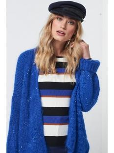 dylene sequins moh 300 aaiko vest electric blue