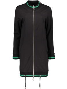 Zoso Vest MEES 2 SPORTY CARDIGAN BLACK/GREEN
