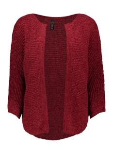 IZ NAIZ Vest 2677 CARDIGAN CHENILLE RED