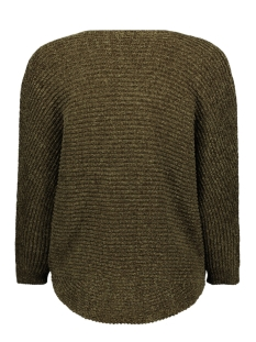 2677 cardigan chenille iz naiz vest green