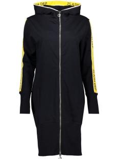 sporty long cardigan sr1917 zoso vest navy-yellow