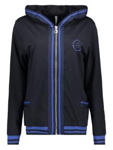 hooded cardigan sr1928 zoso vest navy/cobalt