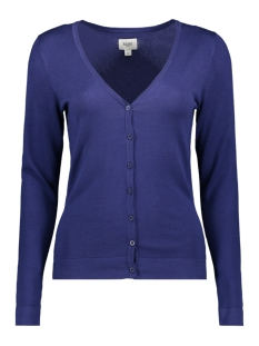 Saint Tropez Vest L S CARDIGAN V NECK A2510 9242 RIBBON
