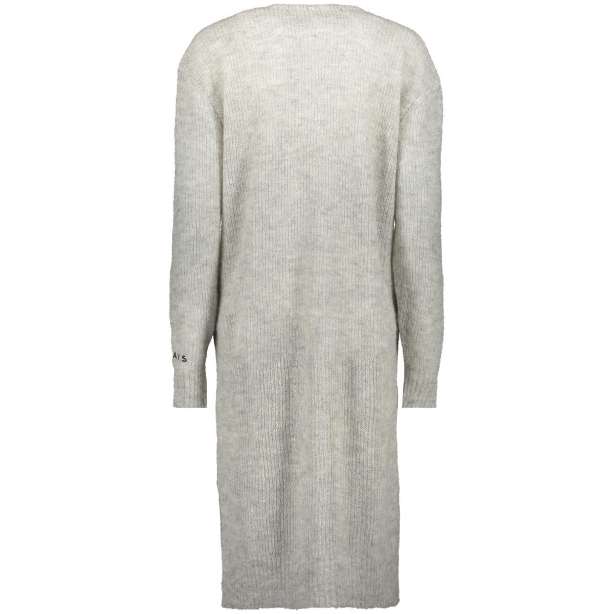 cardigan alpaca merino 20 661 9103 10 days vest light grey melee