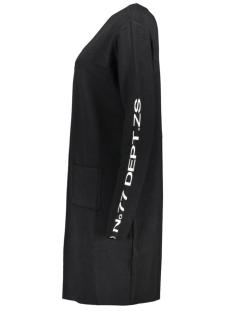 omega 194 long cardigan zoso vest black/off white
