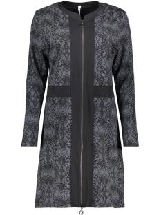 scarlett printed cardigan 194 zoso jurk black/antra
