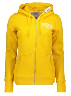 Superdry Vest TRACK & FIELD ZIPHOOD W2000050A RIO YELLOW