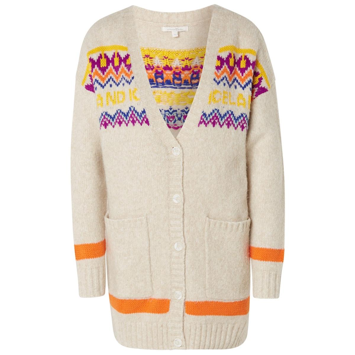 gebreid vest in fair isle design 1014726xx71 tom tailor vest 10396