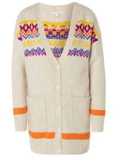 Tom Tailor Vest GEBREID VEST IN FAIR ISLE DESIGN 1014726XX71 10396