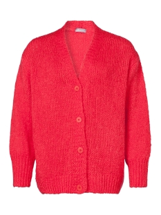cardigan with closure buttons 94861 70 geisha vest 000220 coral