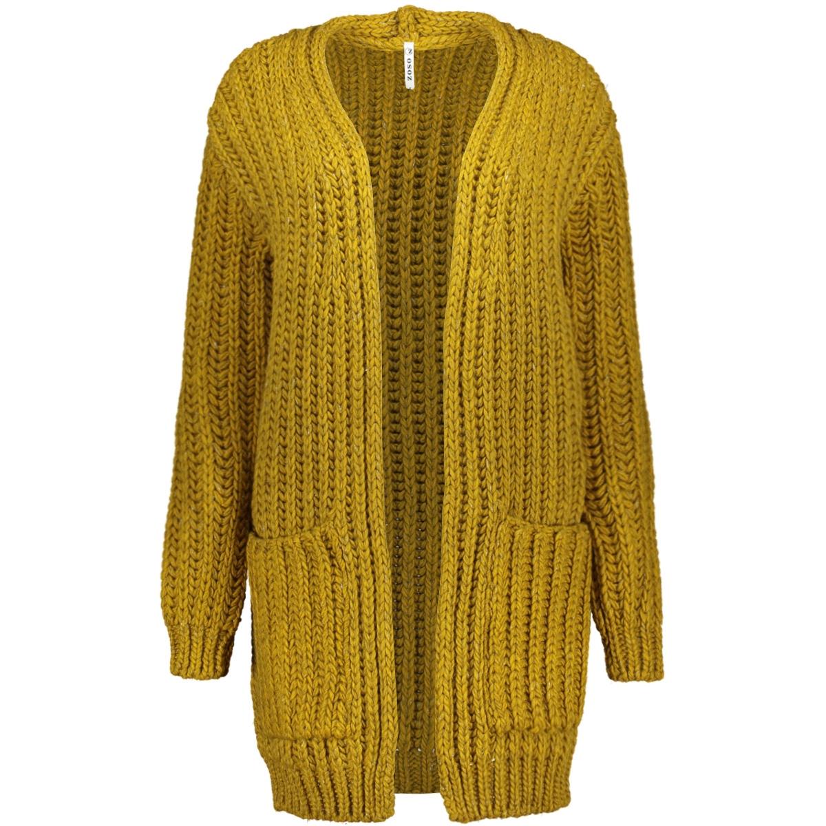 195 dyan cardigan melange yams zoso vest gold yellow