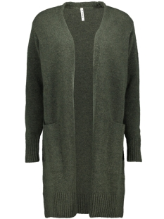 Zoso Vest 195 DERBY KNITTED CARDIGAN FOREST