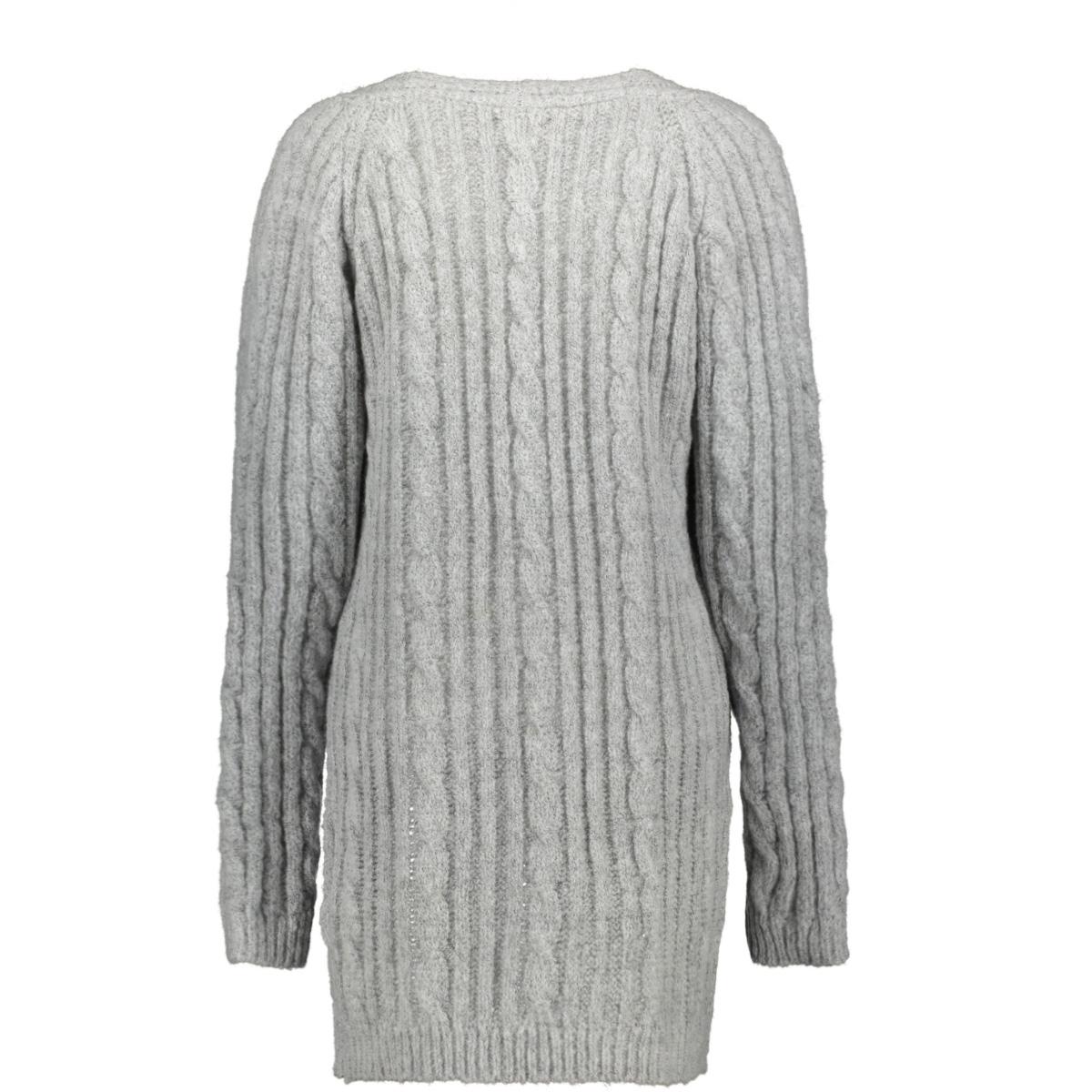 cable cardigan raglan 94835 geisha vest grey melange