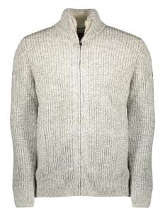 Superdry Vest DOWNHILL ZIP THROUGH CARDIGAN M6100011A CONCRETE TWIST