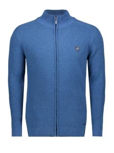 Campbell Vest KNITWEAR  EDINGBURGH 052962 320 JEANS BLUE