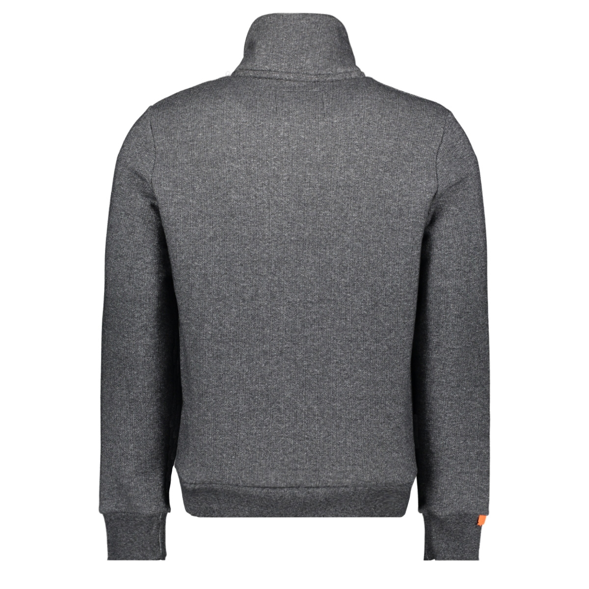 orange label classic track top m2010041a superdry vest mid grey texture
