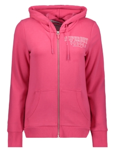 Superdry Vest ZIPHOOD W2010010A FUSCHIA