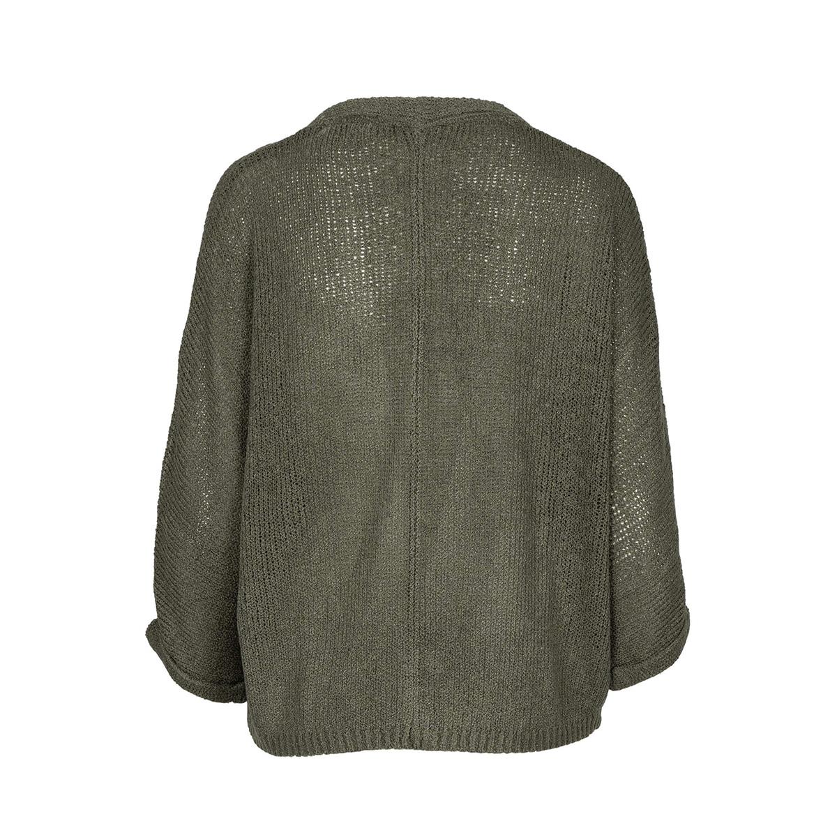 nonchalant vestje 0306 012 4500 zusss vest groen
