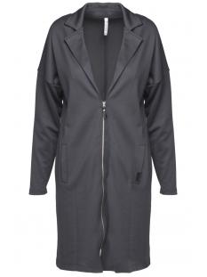 mason scuba modal cardigan 201 zoso vest 0059 charcoal