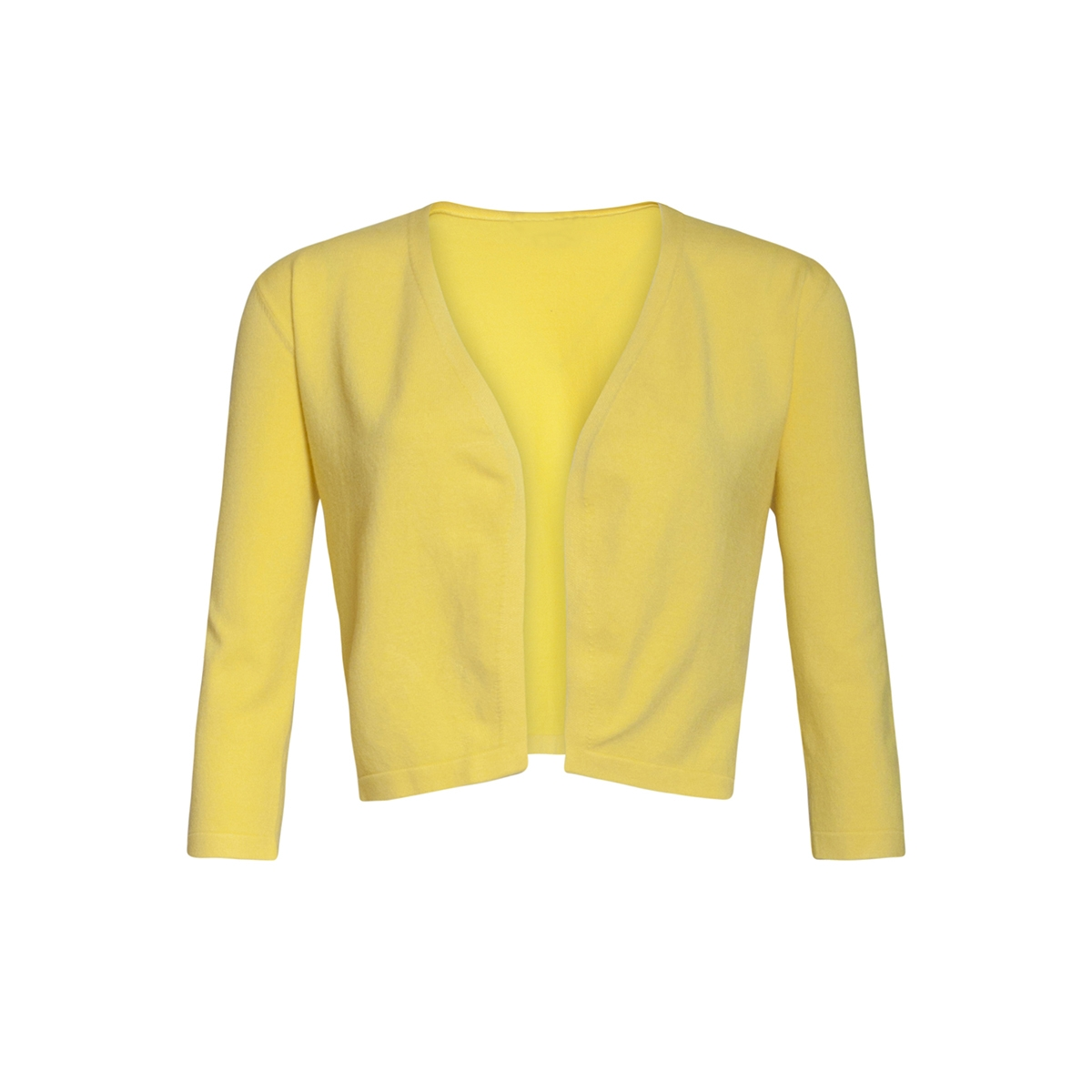 cardigan 90001 smashed lemon bolero yellow