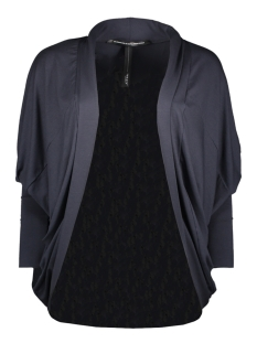 10 Days Vest WIDE CARDIGAN 20 858 0202 DARK GREY BLUE