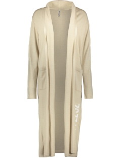 Zoso Vest FREE LONG CARDIGAN 202 SAND/WHITE