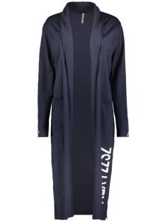free long cardigan 202 zoso vest navy/kiezel
