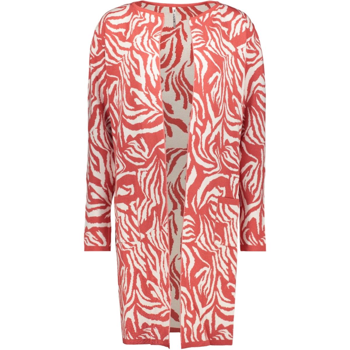 yolanda knitted cardigan 201 zoso vest desert red