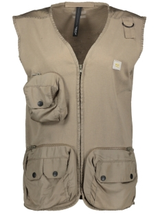 10 Days Gilet UTILITY VEST 20 512 0203 1086 DARK SAFARI