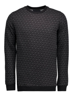 jjprtraver sweat crew neck 12102241 jack & jones sweater black